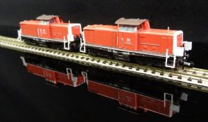 SH-MT11444.001 DB AG Set of two Br714 Diesels